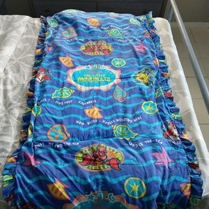 Vintage Disney The Little Mermaid Toddler Bed